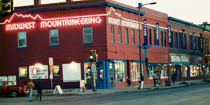 Midwest Mountaineering Storefront